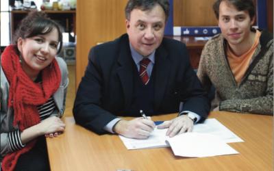 Nuevo Convenio Fudea firma con Roast & Lambs